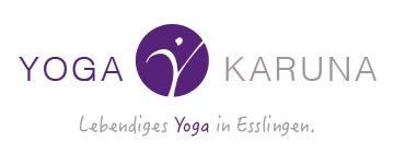 YOGA KARUNA . Lebendiges Yoga in Esslingen . Karin Burghardt Logo